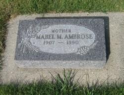Mabel May <i>Blane</i> Ambrose