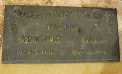 Arthur J Vail