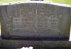 Lois Rebecca <i>Wilde</i> Boyer