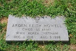 Arden Keith Howell