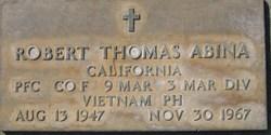 PFC Robert Thomas Abina