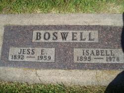 Jessie Edgar Jess Boswell