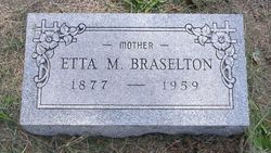Etta M <i>Ruland</i> Braselton
