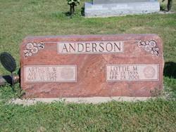 Lottie Margaret <i>Speidel</i> Anderson