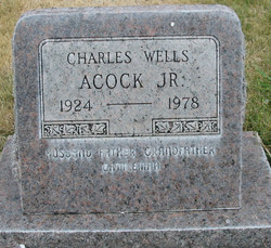 Charles Wells Acock, Jr