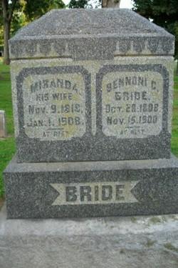 Miranda <i>Kinney</i> Bride