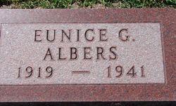 Eunice G <i>Hansen</i> Albers
