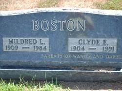 Clyde E Boston