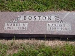 Marion James Boston