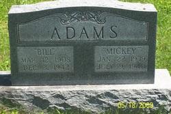 Mary Lillian Mickey Adams