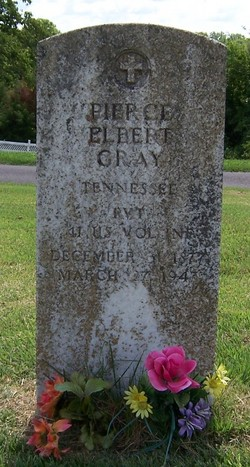 Pvt Pierce Elbert Gray