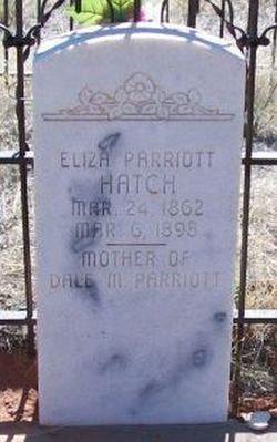 Eliza <i>Parriot</i> Hatch