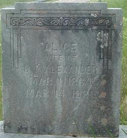 Mary Alice <i>Fields</i> Alexander