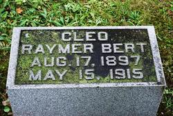 Cleo <i>Raymer</i> Bert