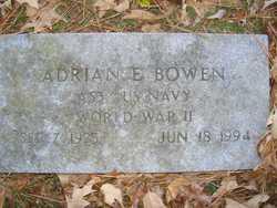 Adrian E. Bowen