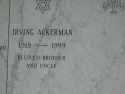 Irving Ackerman