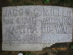 Mrs Martha H Miller