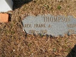 Rev Francis Asbury Frank Thompson