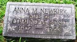 Anna M <i>Newkirk</i> Adsit