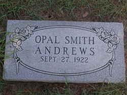Opal <i>Smith</i> Andrews