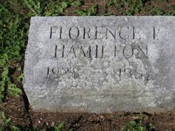Florence I <i>Hamilton</i> Betts