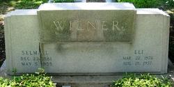 Selma <i>Loewenstein</i> Wiener