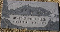 Dorothea Louise Allen