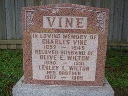 Olive E. <i>Wilton</i> Vine