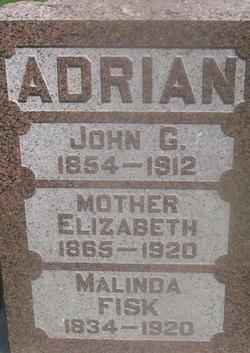 Elizabeth <i>Fisk</i> Adrian