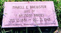 Mabell E <i>Brewster</i> Barnes