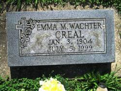 Emma M. <i>Wachter</i> Creal
