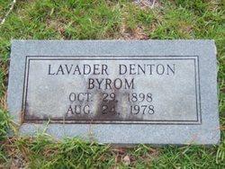 Lavader <i>Denton</i> Byrom