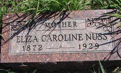 Eliza Caroline <i>Stark</i> Nuss