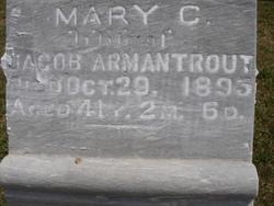Mary Cornelia <i>Rogers</i> Armantrout