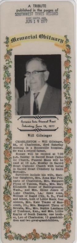William Matthias Gilsinger