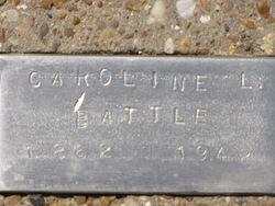 Caroline Liberty <i>Stone</i> Battle