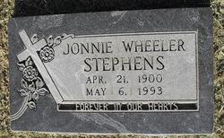 Jonnie Edith <i>Wheeler</i> Stephens
