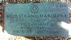 Billy Strand Marquis