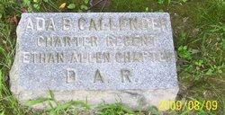 Ada B. Callender