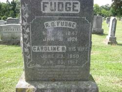 Caroline B. <i>Gideon</i> Fudge