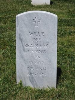 Willie Dee Pal Beadle, Sr