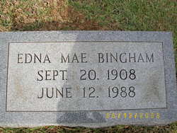 Edna Mae <i>Bonds</i> Bingham