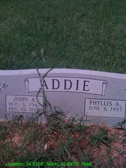 Phyllis A. <i>Williams</i> Addie