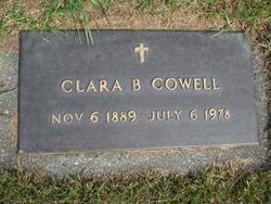 Clara Belle <i>Whitson</i> Cowell