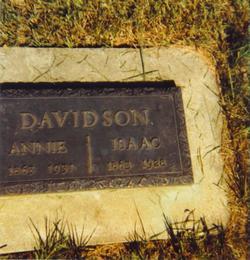 Anne Annie <i>Robson</i> Davidson