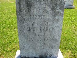 Eizabeth Lee Lizzie <i>Comer</i> Baker