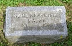 Alice <i>Newhouse</i> Mauzy