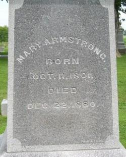 Mary Armstrong
