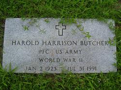 PFC Harold Harrison Butcher