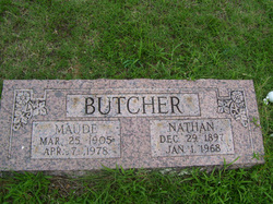 William Nathaniel Nathan Butcher